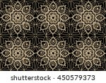 lacy  delicate seamless pattern ... | Shutterstock .eps vector #450579373