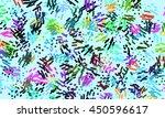abstract digital art doodle...   Shutterstock . vector #450596617