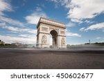 triumphal arch. paris. france.... | Shutterstock . vector #450602677