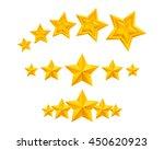 stars icons set vector...   Shutterstock .eps vector #450620923