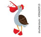an illustration of a cute... | Shutterstock .eps vector #450630913