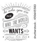 typography poster.... | Shutterstock .eps vector #450645583