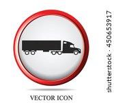 truck icon vector illustration