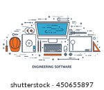engineering and architecture... | Shutterstock .eps vector #450655897