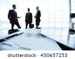 financial documents | Shutterstock . vector #450657253