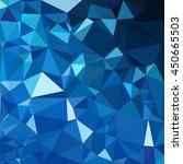 blue polygonal mosaic... | Shutterstock .eps vector #450665503