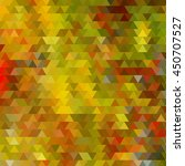 background with colorful hex... | Shutterstock .eps vector #450707527