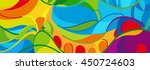 rio. 2016 abstract colorful... | Shutterstock .eps vector #450724603