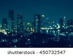 bangkok cityscape river view at ... | Shutterstock . vector #450732547