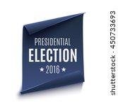 presidential election 2016...   Shutterstock .eps vector #450733693