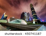 amazing night view of the...   Shutterstock . vector #450741187