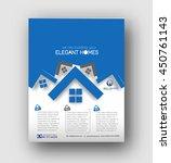 real estate agent flyer  ... | Shutterstock .eps vector #450761143