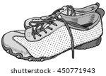 pair of sneakers   Shutterstock .eps vector #450771943