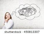 attractive european...   Shutterstock . vector #450813307