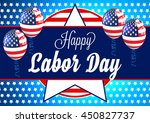 labor day. | Shutterstock .eps vector #450827737