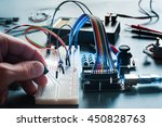 circuits creation with... | Shutterstock . vector #450828763