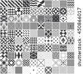 ultimate set of 100 various... | Shutterstock .eps vector #450866017