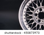 close up of rims car alloy... | Shutterstock . vector #450873973