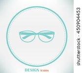 vector illustration glasses | Shutterstock .eps vector #450904453