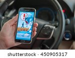 roseville  ca usa   july 11 ... | Shutterstock . vector #450905317