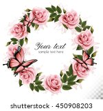 holiday background with beauty... | Shutterstock .eps vector #450908203