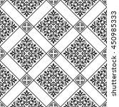 seamless vintage pattern for... | Shutterstock .eps vector #450985333