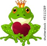 Frog Prince Waiting To Be...