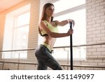 fitness  sport  people and... | Shutterstock . vector #451149097