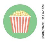 popcorn vector icon | Shutterstock .eps vector #451164523