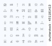 furniture and home decor icon...   Shutterstock .eps vector #451181413
