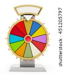 Wheel Of Fortune Isolated On...