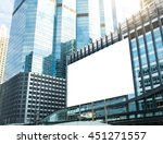 large billboard signs for... | Shutterstock . vector #451271557