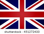flag of united kingdom | Shutterstock .eps vector #451272433
