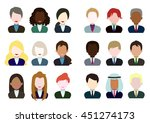illustration   the office... | Shutterstock .eps vector #451274173