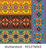 national embroidery picture... | Shutterstock .eps vector #451276063