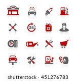 gas station icons | Shutterstock .eps vector #451276783