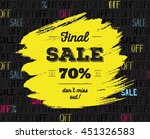 Final Sale Up To 70   Off. Big...