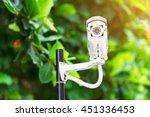 cctv security camera...   Shutterstock . vector #451336453
