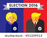 washington  dc  us   july 6 ... | Shutterstock .eps vector #451339513