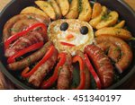 sausage and peppers with...