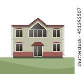 vector illustration of modern... | Shutterstock .eps vector #451393507