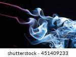 Abstract Coloured Smoke...