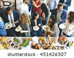 food catering cuisine culinary... | Shutterstock . vector #451426507