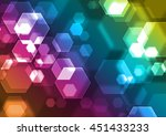 abstract colorful background... | Shutterstock . vector #451433233