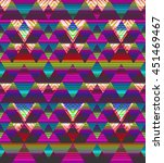 abstract triangle stripes  ...   Shutterstock . vector #451469467
