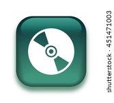 cd disk icon   glossy vector... | Shutterstock .eps vector #451471003