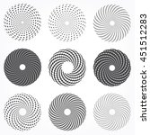Abstract Dotted Spiral Spheres...