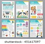 modern flat infographics of... | Shutterstock .eps vector #451617097