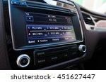 smart multimedia touchscreen... | Shutterstock . vector #451627447