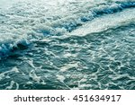 ocean background  sea shore ... | Shutterstock . vector #451634917